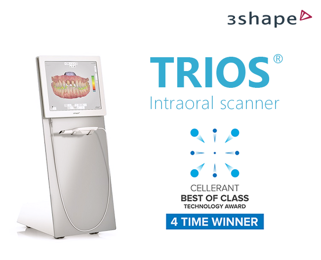 "3Shape TRIOS Wins ""Best of Class"" Award"