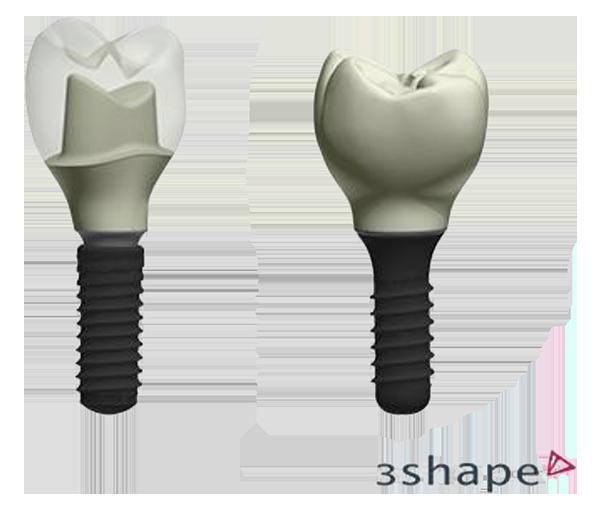 3shape S Dental System Offers Cad Design For Straumann