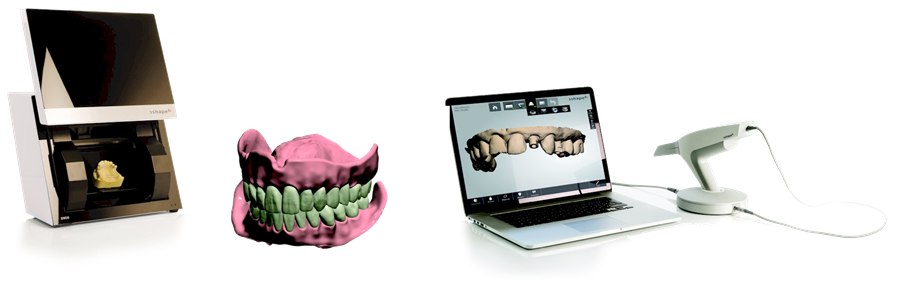 3Shape Dental dental lab scanner and software