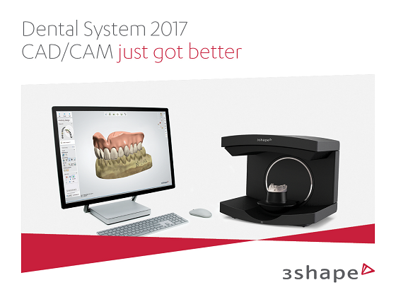 The new 3Shape Dental System 2017